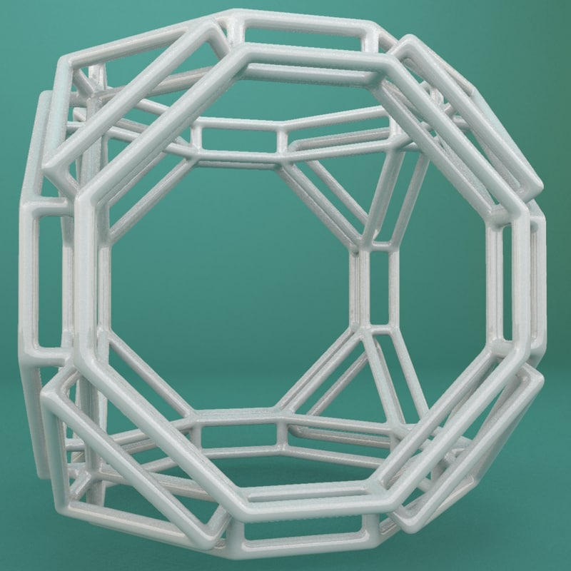 geometric shape 3d model