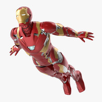 Iron Man Mark 46 - Flying Pose