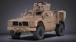 3d model oshkosh m-atv r6