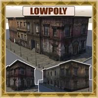 street buildings 3d 3ds