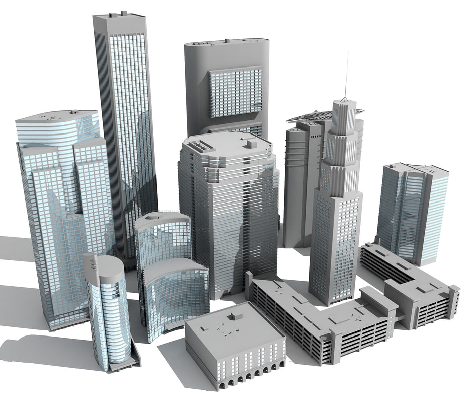 3ds max buildings 11