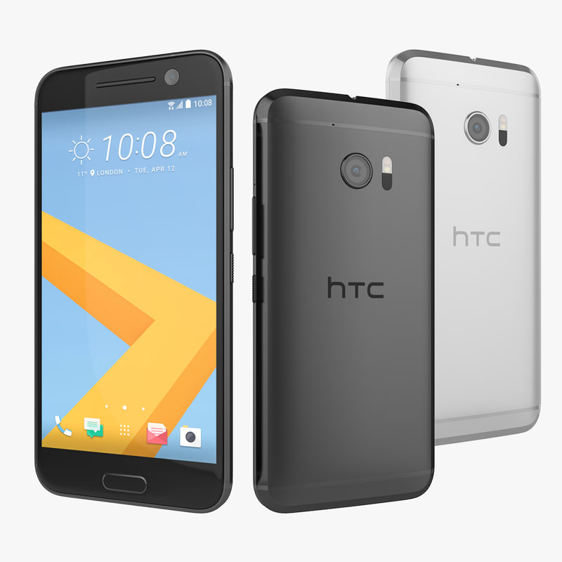 3d new htc 10 silver