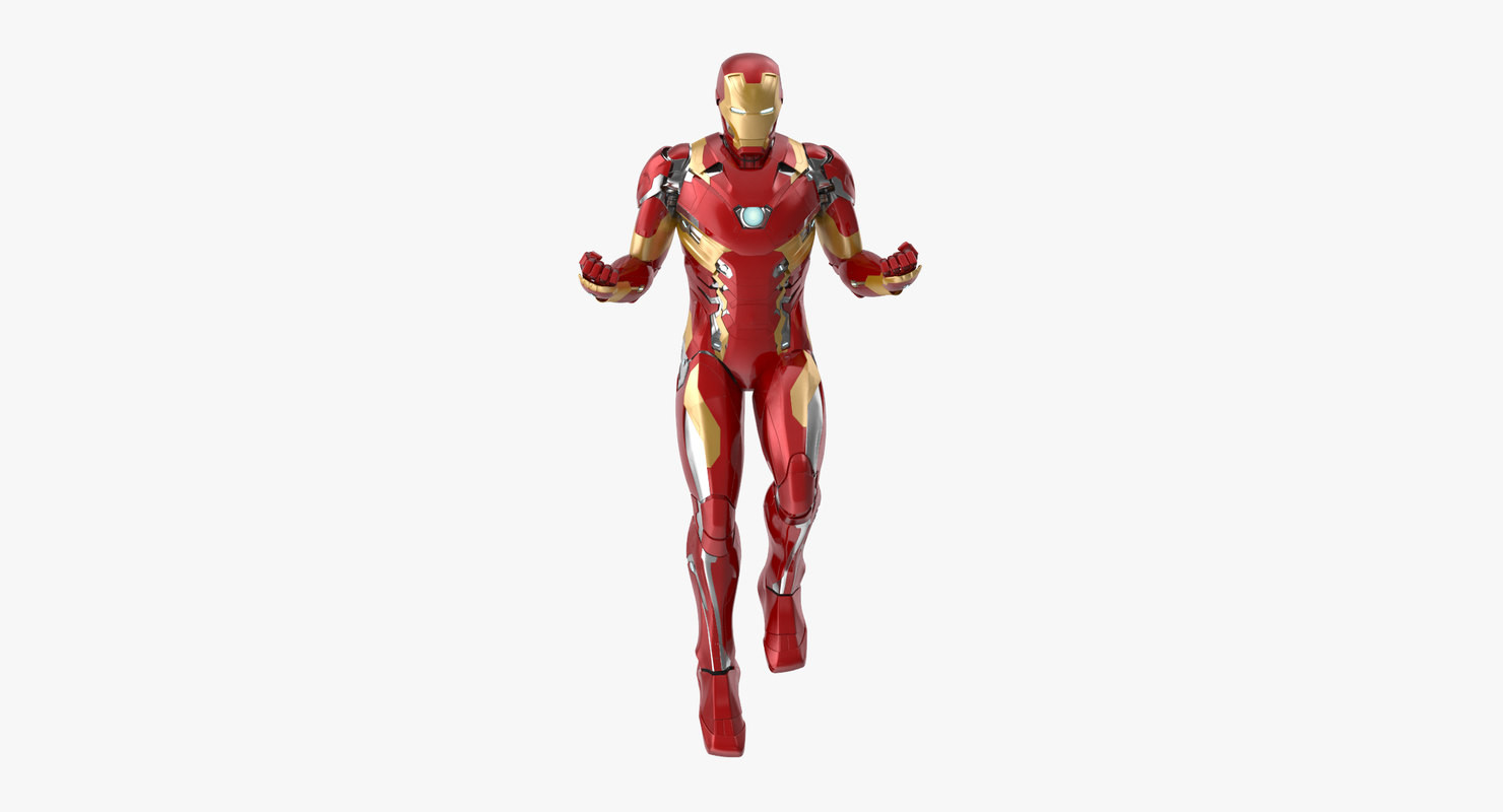 3d model iron man mark 46