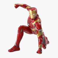 3d iron man mark 46