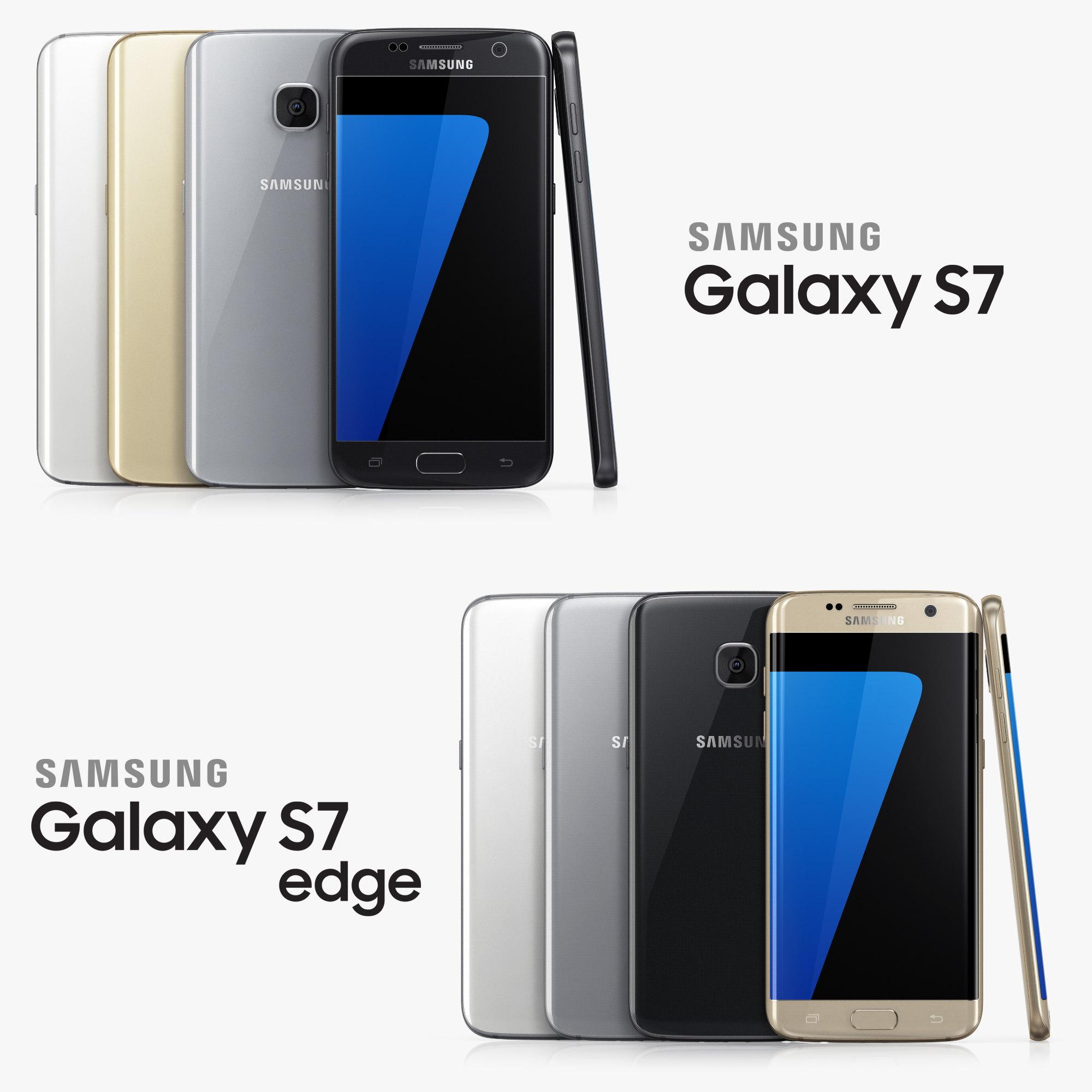 3d samsung galaxy s7 edge