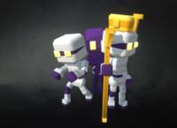 3d mummy proto series model