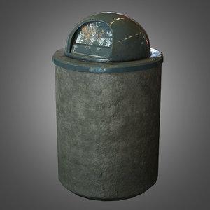 trash - pbr ready 3d obj