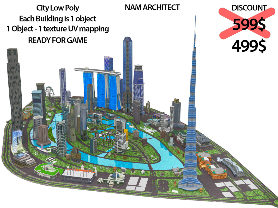 city ready 3d model