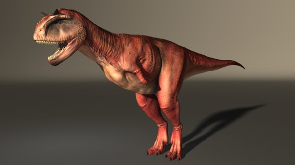 carnotaurus obj