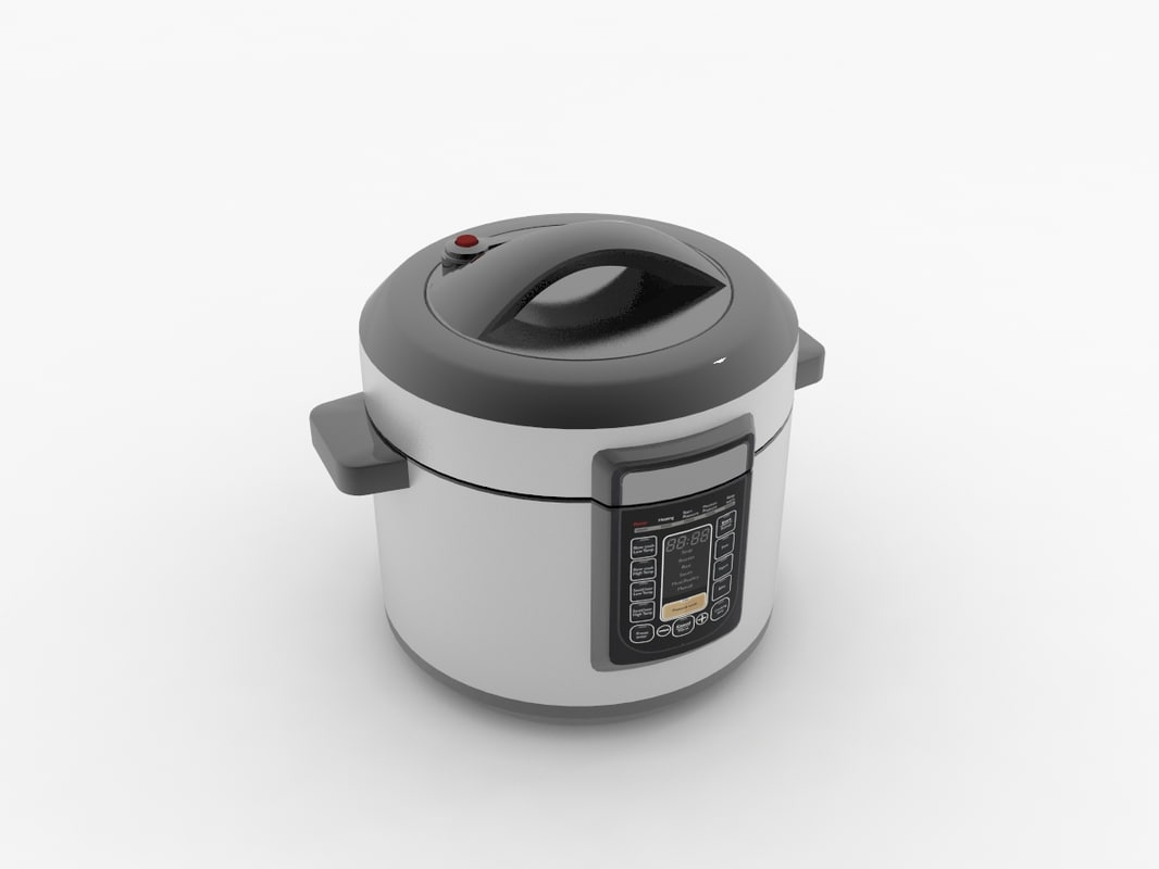 multicooker cooking 3d model