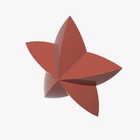 3d model star