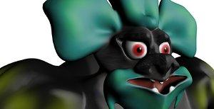 3d model fantasy creature ogre