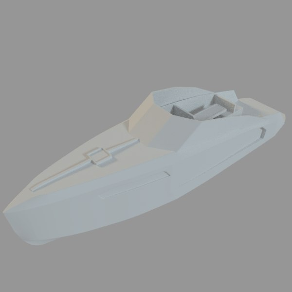 speedboat indomita 3d 3ds