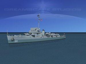 depth evarts class destroyer 3d 3ds
