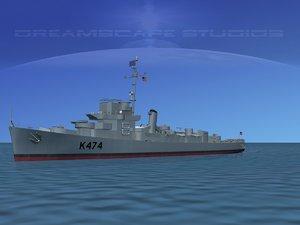 guns captains class frigate max