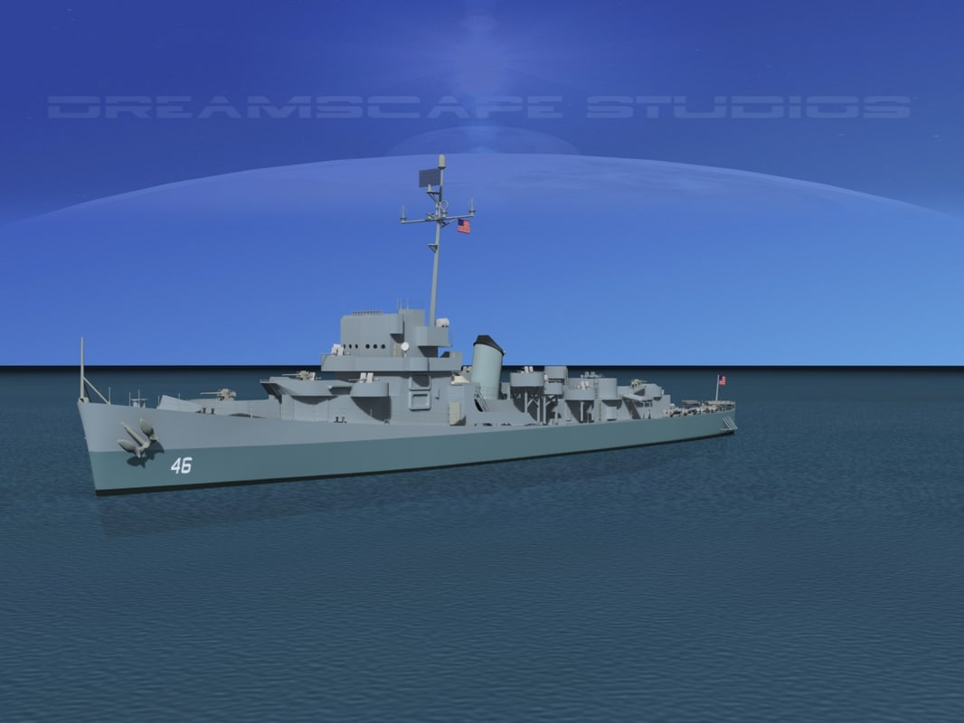 depth evarts class destroyer 3d 3ds