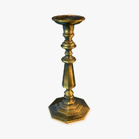 Brass Candle Holder 2