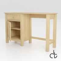 Stanton Pedestal Desk - Next