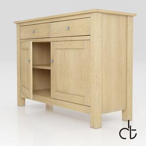 - stanton small sideboard 3d obj