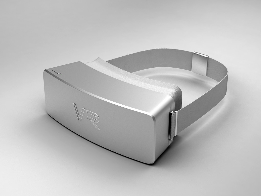 virtual reality headset 3d model