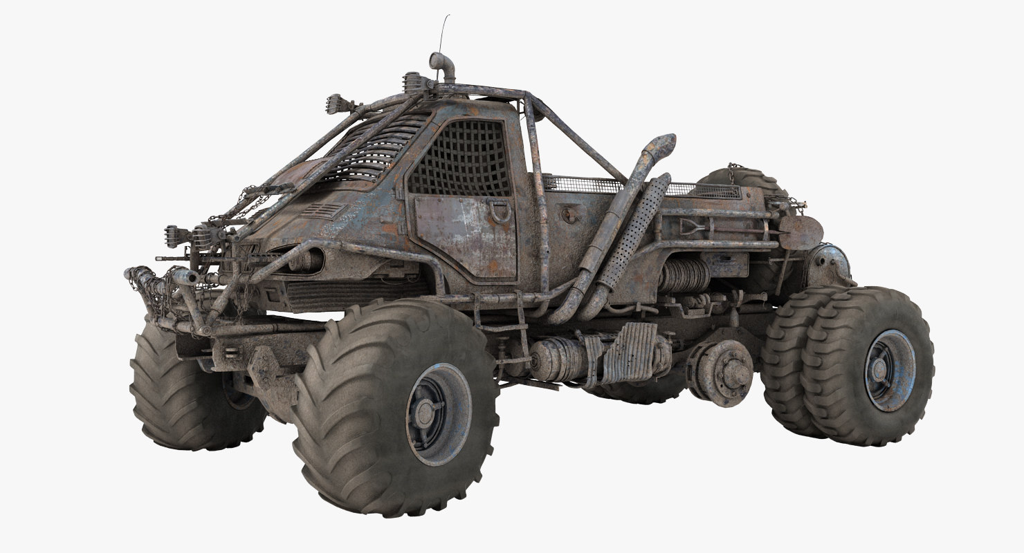 apocalyptic truck 3d max