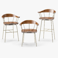 BassamFellows Spindle Chair