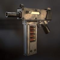 3d model shotgun original