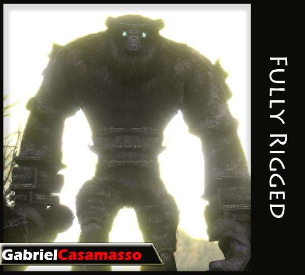 fbx valus shadow colossus
