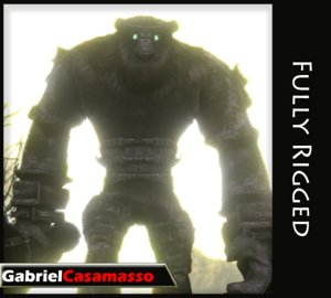 fbx valus shadow colossus