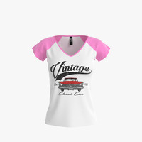 V-Neck Shirt for Women