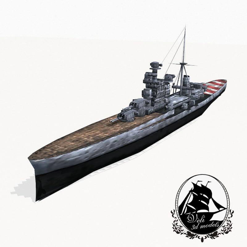 zara class cruiser fbx
