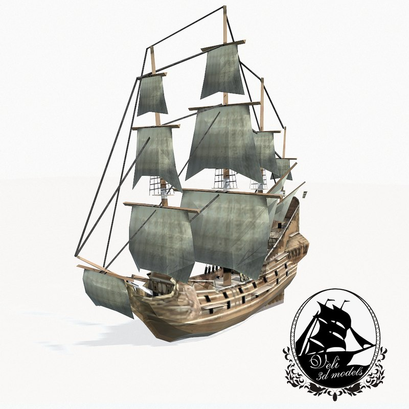 medieval galleon max