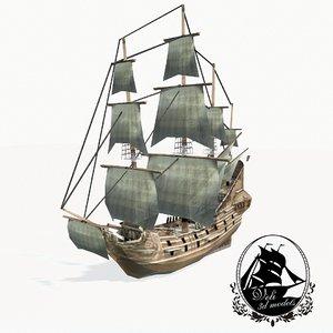 medieval galleon max