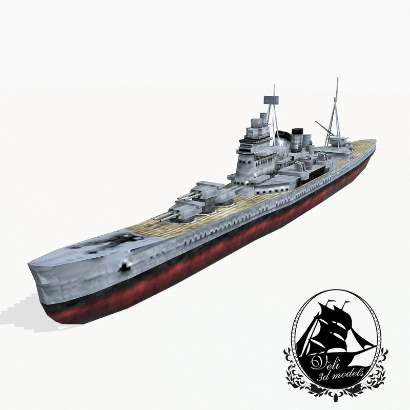 cruiser class 3d model