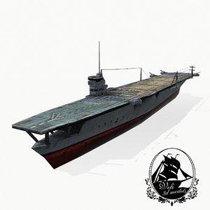 kaga carrier 3d 3ds
