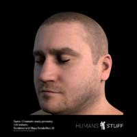 3d body human model
