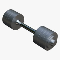 3ds dumbbell collada dae