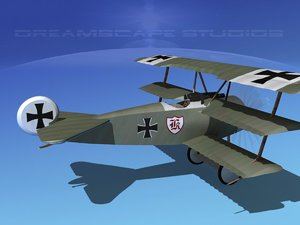 triplanes fokker dr-1 fighter lwo