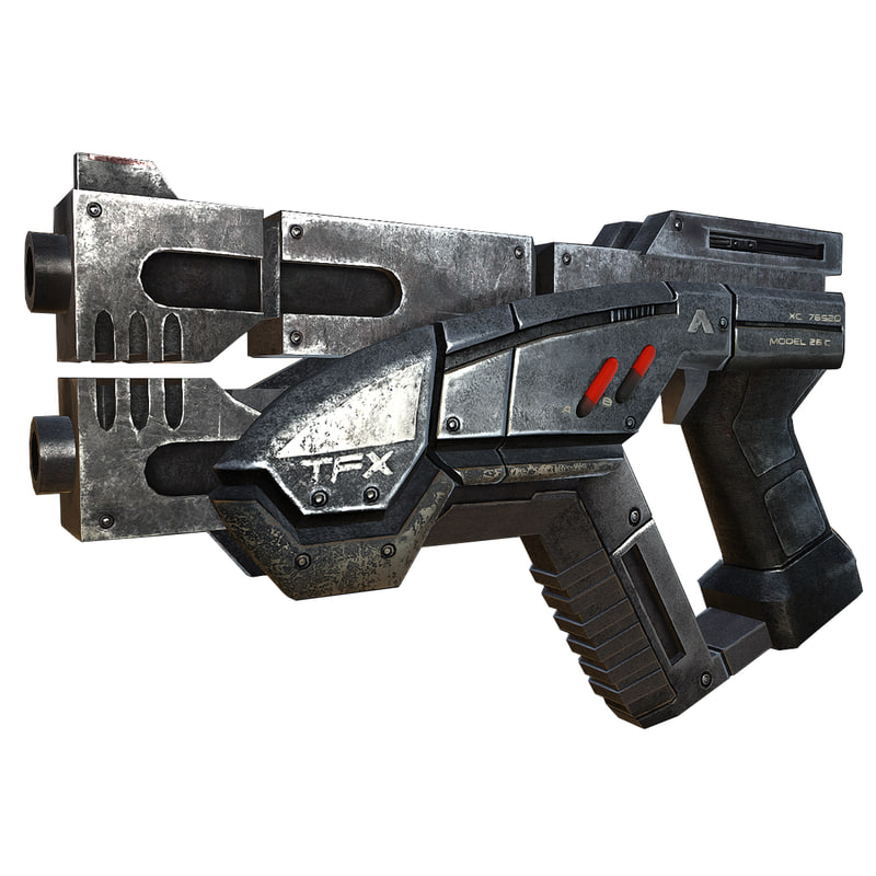 gun futuristic max