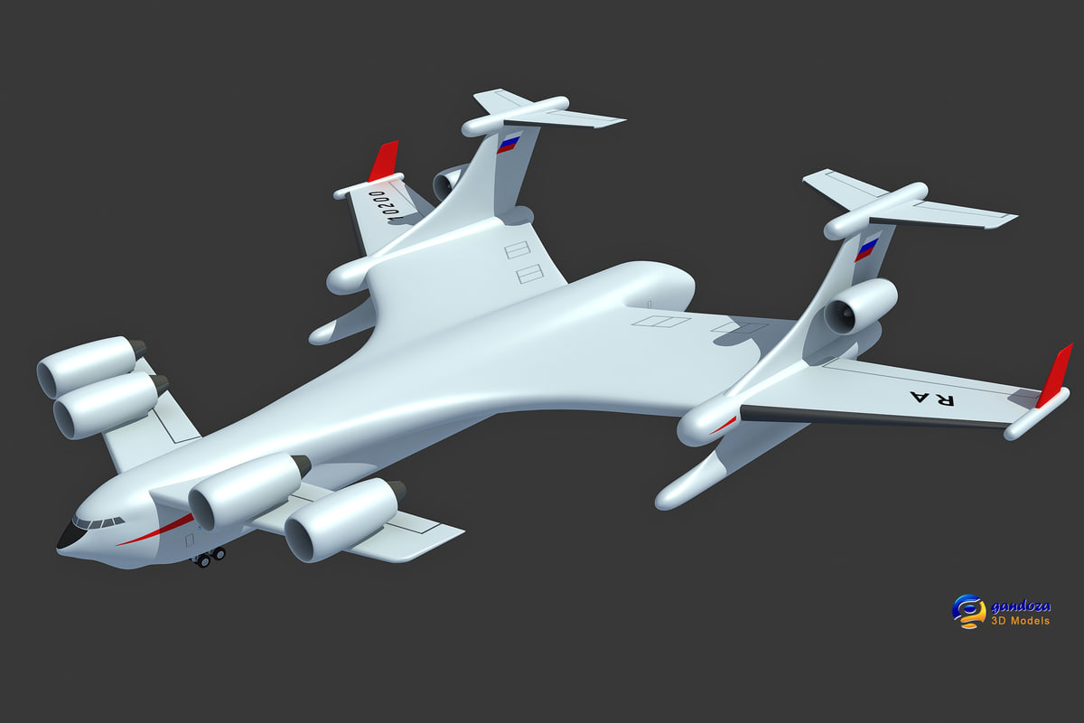 beriev be-2500 neptun cargo 3ds