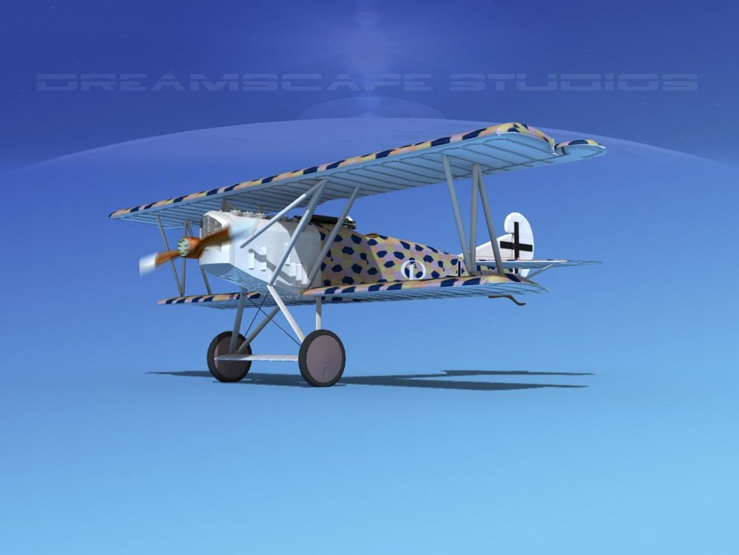 max fokker dvii fighter luftwaffe
