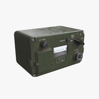 unity dp-2 dosimeter 3d model