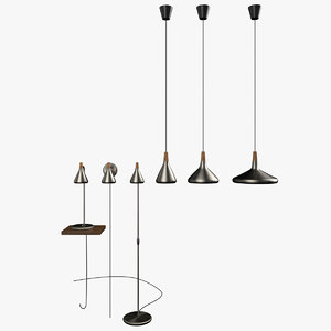 3d model lamps -