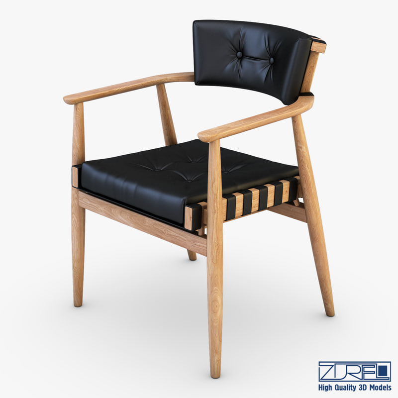 leather chair black max