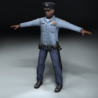 american policeman 3d 3ds