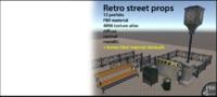 Retro Street Props