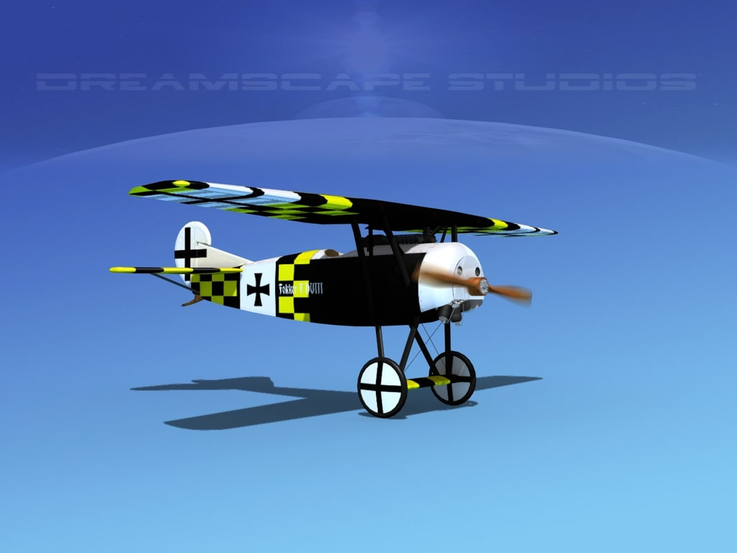 fokker dviii fighters dwg