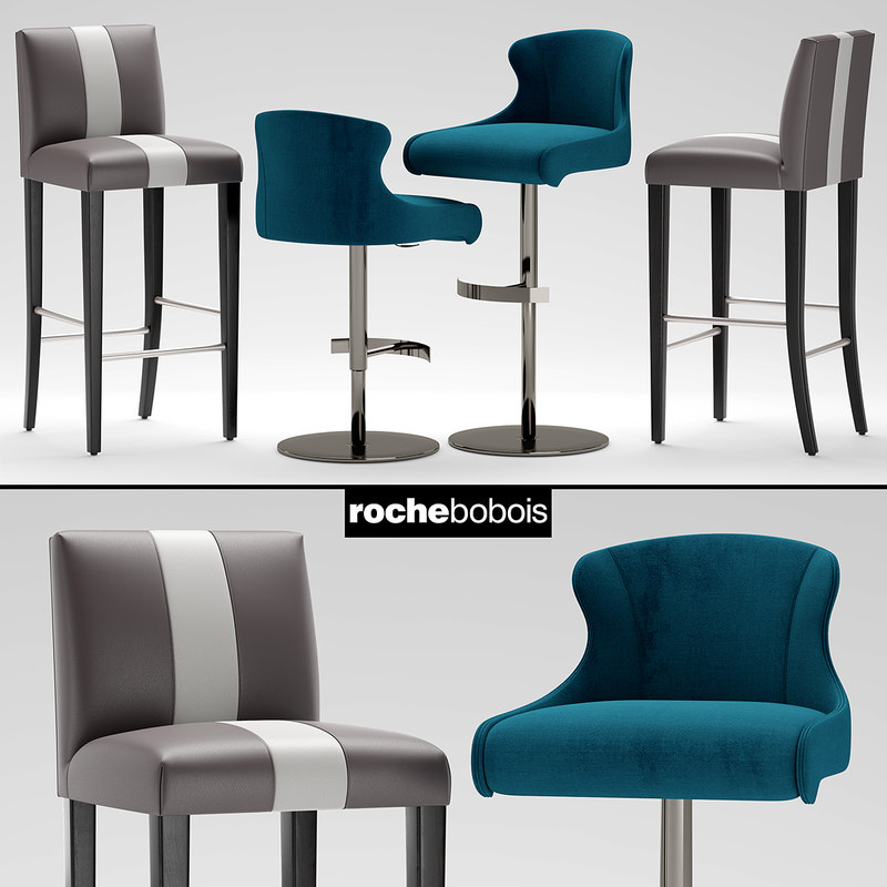 Tabouret Roche Chair Steeple Bobois Carioca HE9YDW2I