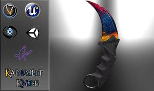 obj karambit knife