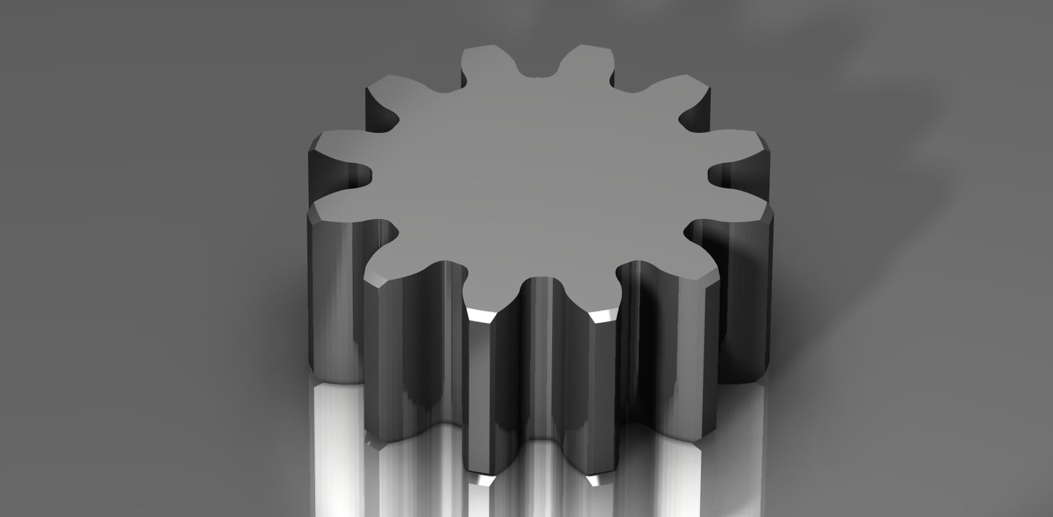 3ds spur gear 48 48p